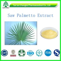 GMP ISO certificated factory supply high quality hot sale Saw Palmetto plant extract powder