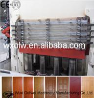Wooden door making machine