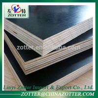 Wholesale Low Price High Quality Film Faced Plywood Thickness 18Mm 21Mm