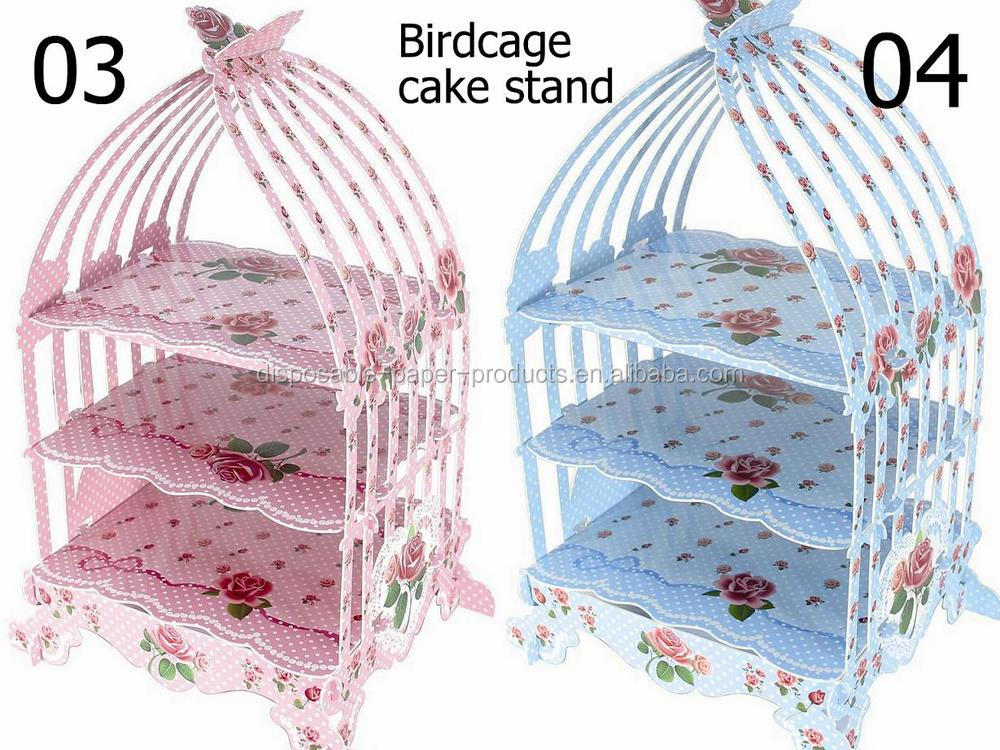 Bird Cage Patisserie Cup Cake Stand Vintage Wedding Party