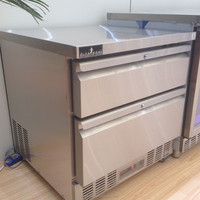 Commercial Small Refrigerator with Stainless steel Drawer