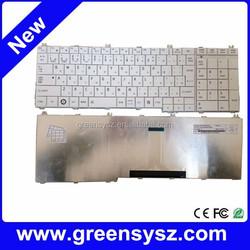Genuine JP laptop japanese keyboard notebook keyboard for Toshiba C650 C655 L750 L750D L775 L755 White