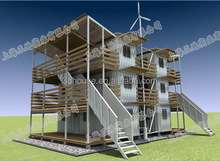 luxury Indonesia movable container houses for sale