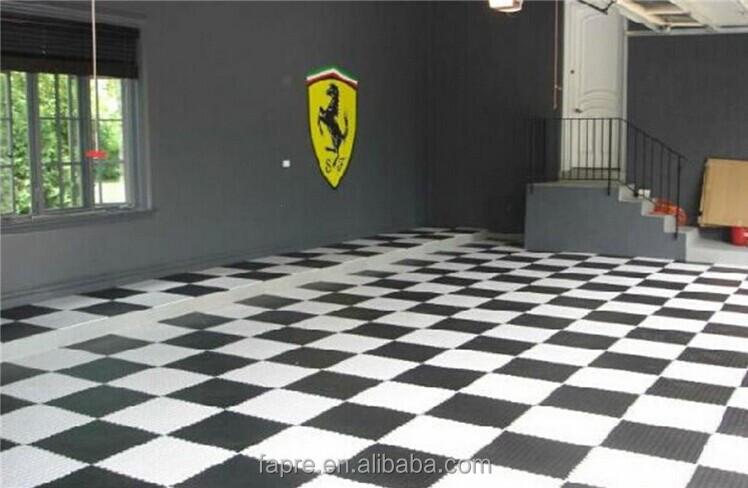 Pvc Circle Stud Interlocked Floor Mat Studded Interlocking