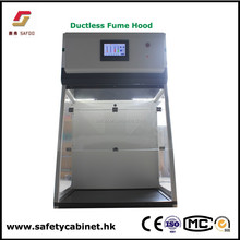 Ductless fume hoods for chemical, laboratory, and pharmaceutical applications