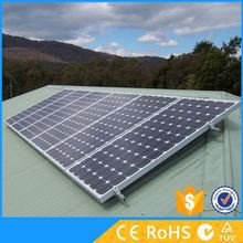Solar concentrated photovoltaic low cost solar lighting system 3kw