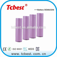 China 18650 3000mah lithium ion battery manufacturer
