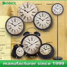 Home decor wholesale retro / antique clock / Clock for elderly