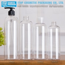 TB-BH400 400ml good quality pe liner foot cream perfect inner painted cap pet bottles in bales