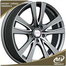 matte black of 17x7.5inch car wheel rims