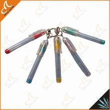 2013 Best selling keyring gel pen