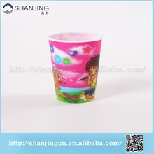 3D lenticular customized pp plastic mug cup