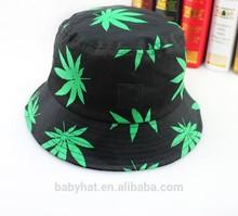 bambini cappello boonie marijuana cannabis foglia di erba berretto cappello bambino neonato pesca caccia cappello outdoor tappo