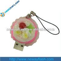 Funny food shape 4gb usb flash drives bulk
