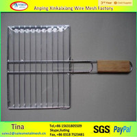 BWG12 Barbecue wire mesh/barbecue grill wire mesh/stainless steel barbecue wire mesh