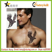 2015 Best Price fashion water transfer custom eagle tattoo designs art