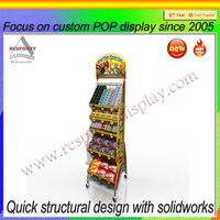 Factory wholesale sweets and candy display stand