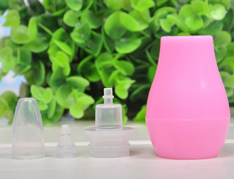 5pcs нос чистого сопли присоски мягкой Всасывающее сопло носовой аспиратор для новорожденного