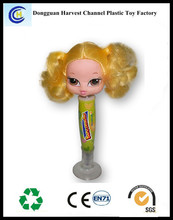 New products plastic promotional cute character ballpen