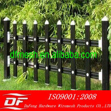 2014 hot sale used wrought iron fence/Lawn Fence (China direct supplier)