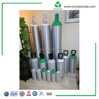 EN 50L 200bar Aluminum High Purity Argon Gas Cylinder Price