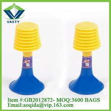 Cheerleading toys plastic party air horn for sale