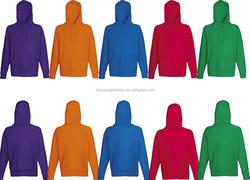 Unisex's Plus Size Blnak Thick Hoodie