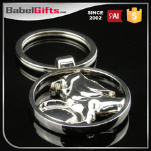 Factory direct sale custom metal dance shoe keychain