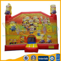 Popular inflatable bouncy castle Minion, Despicable me bounce house