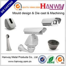 china manufacturer aluminum die casting cnc machining security camera system cctv camera
