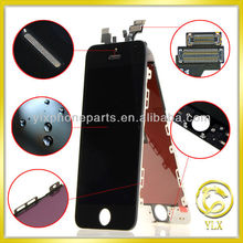 Paypal accepted for apple iphone 5 complete lcd display, for iphone 5 conversion kits top quality