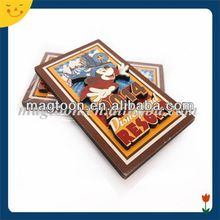 Colorful cute Mickey 3D wooden fridge magnet
