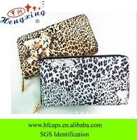 New design ladies leather name brand purses for cheap