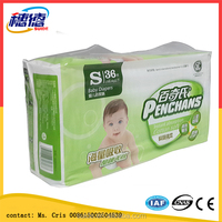 Wholesale Happy Messengers Breathable Film Disposable Baby Diaper