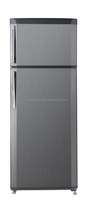 silver color frost free commercial refrigerator gas refrigerator