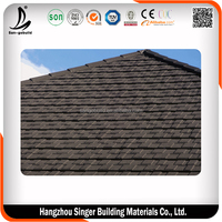 Spanish style colored roof tiles, low price colorful stone coated metal roof tile