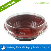 Take Away Food Packaging Plastic Container With Lid