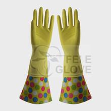 high quality dish washing kitchen gloves, gardening gloves with cotton
