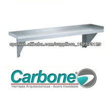 Repisas Acero Inoxidable Carbone