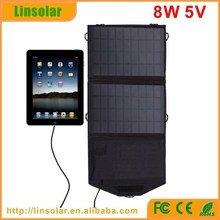 Traveling Camping Portable Folded Folding 8W5V Solar Panel Charger Solar Power Charger bag