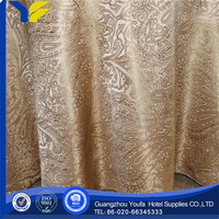 Outdoor high quality Twill satin drill table cloth