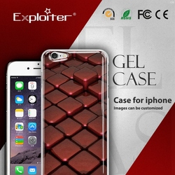 Shenzhen customised cell phone cover for iphone 6s 3d mobile cover