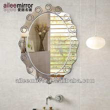 2013 popular exterior mirror panel mirror led mirror touch screen watch