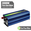 240VAC純粋な正弦波3000ワットのインバーター24VDC