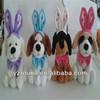 Bunny lady cute dog plush toy