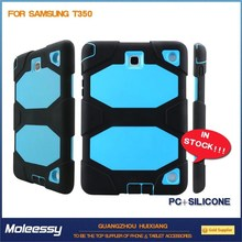 blue silicone rubber tablet case for samsung galaxy tab 3 7 inch