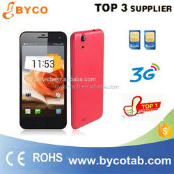 buying in bulk wholesale mobilephone Quad core 5.0inch android 4.3 3G smartphone