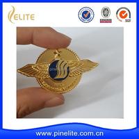 new arrival design metal wing badge, pilot wing badge