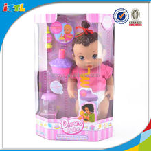 2014 new function doll drinking, pissing, blowing candles and pipe bubble funny doll