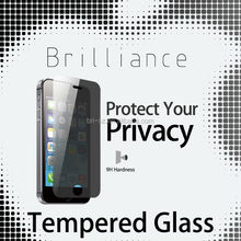 0.2mm tempered glass screen protector for iphone 5/5c/5s Privacy